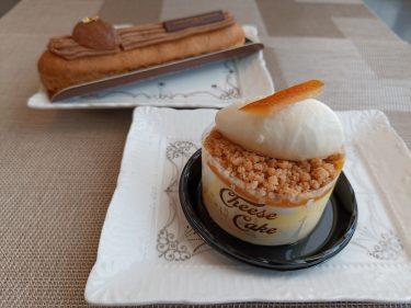 秋限定!ラ・メゾン・デュ・ショコラ のエクレールモンブラン&新作!ミシャラクのチーズケーキオランジュ